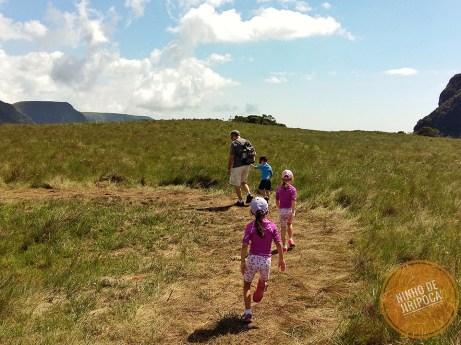 Canion Fortaleza com crianças