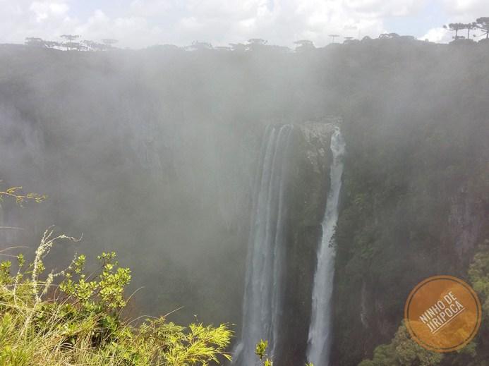Canion Itaimbezinho com neblina