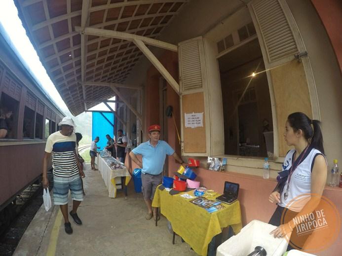 Estação Manacá no passeio de trem em Passa Quatro