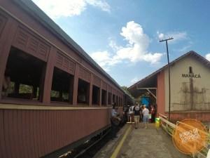 Estação Manacá no Passeio de Maria Fumaça em Passa Quatro