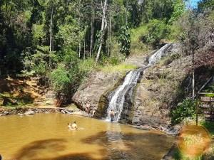 Cachoeira do Iporã em Passa Quatro