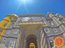 área externa do palácio nacional da pena