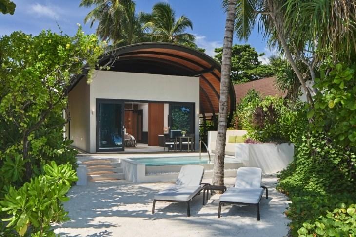The Westin Maldives Island Villa or Suite Pool Exterior