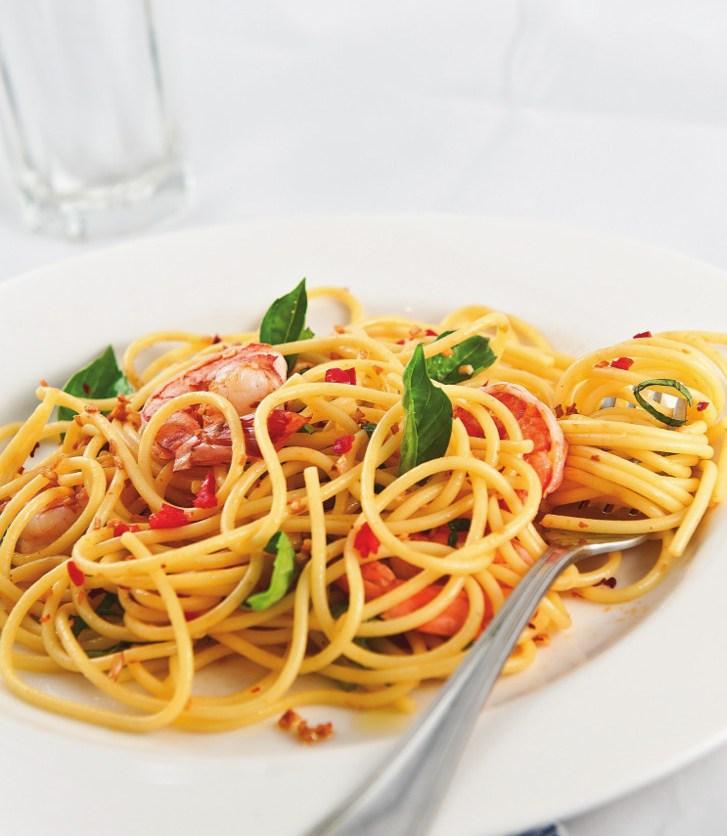 resep spagetti aglio olio