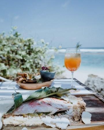 karma beach menu