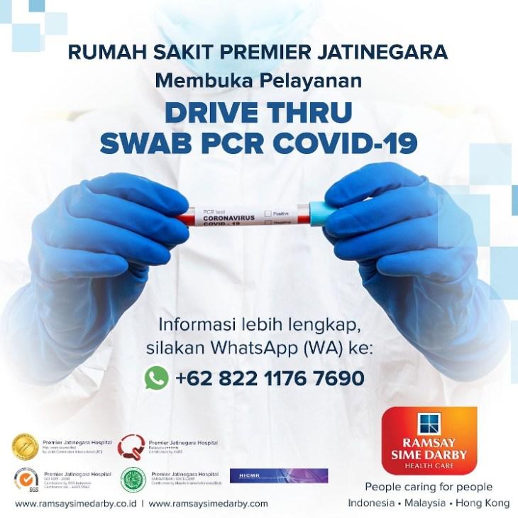 drive thru swab pcr covid-19