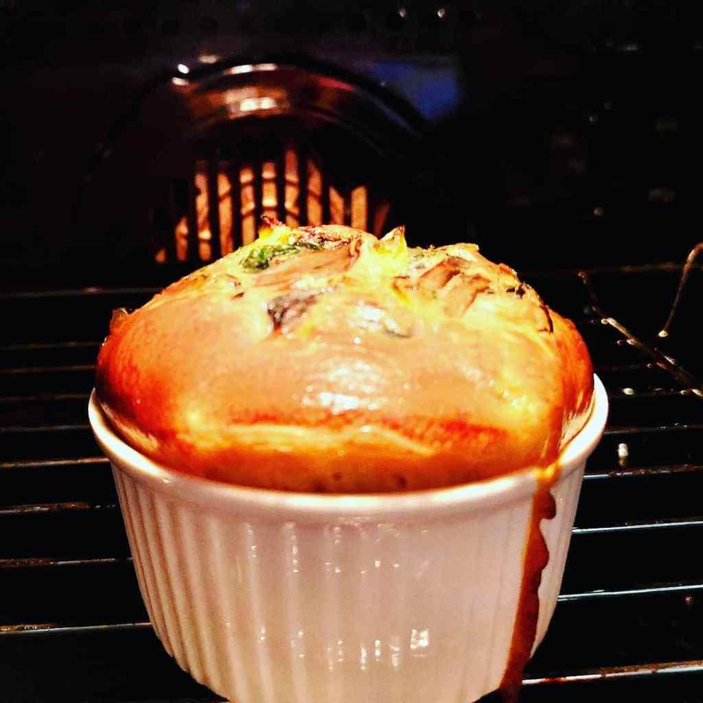muffina, śniadanie, jajka, przepis