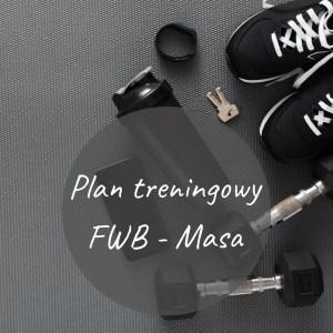 """Plan treningowy """"FBW - Masa"""""""