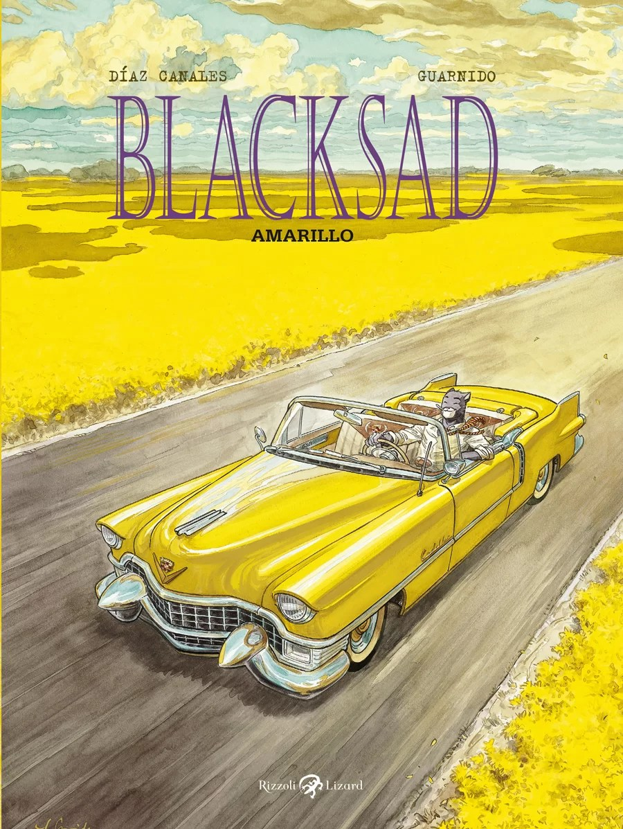 Blacksad - Amarillo book