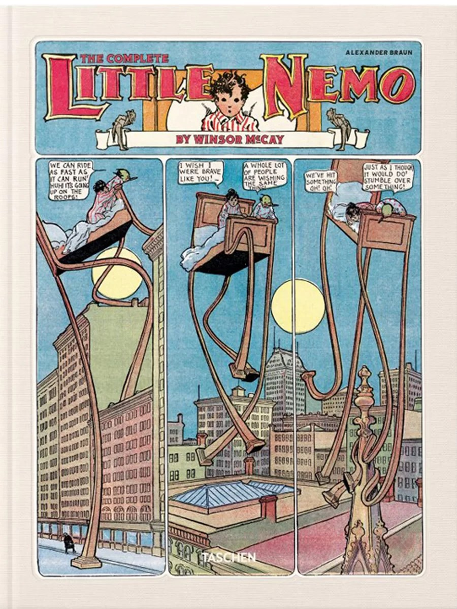 Little Nemo - book