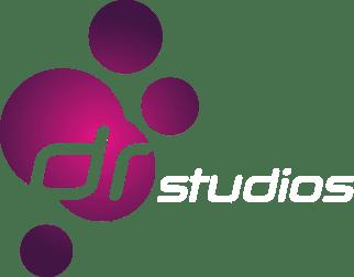 DR Studios Logo White