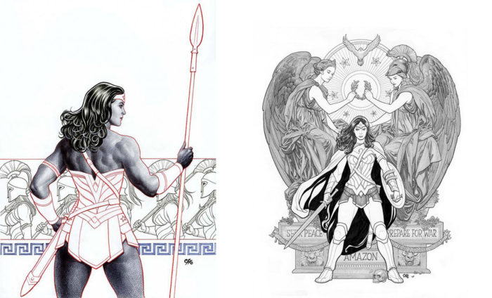 Frank Cho Wonder Woman