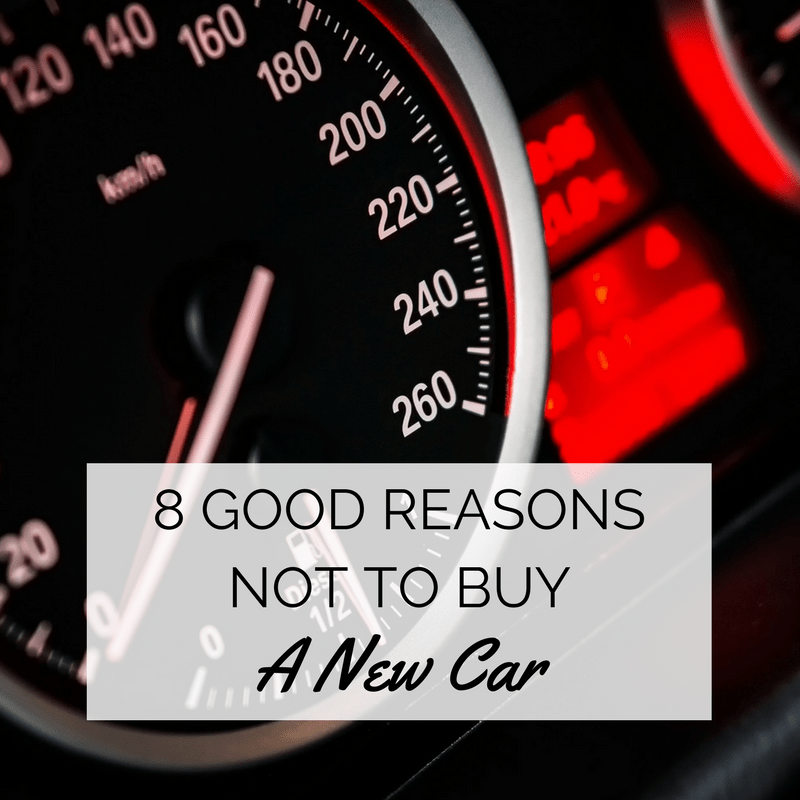 reasons not to buy a new car