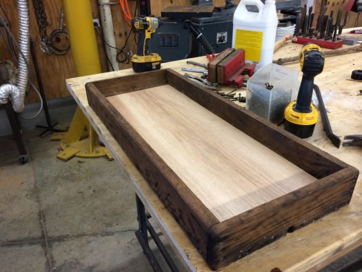 New drip tray, all finished.