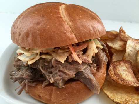 Crock pot pulled pork BBQ