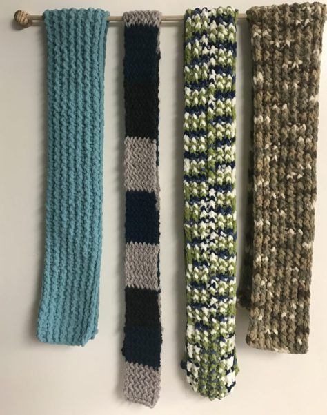 The latest scarves for sale, all hand made