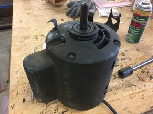 Old original GE motor