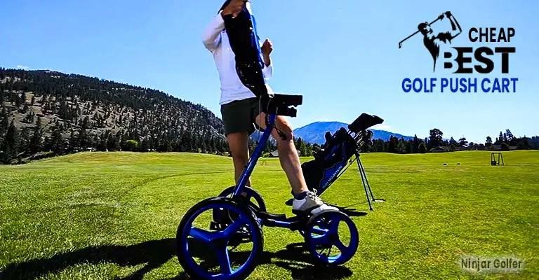 Top 5 Cheap Golf Push Cart Reviews
