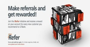 GT Bank I-Refer Affiliate Program