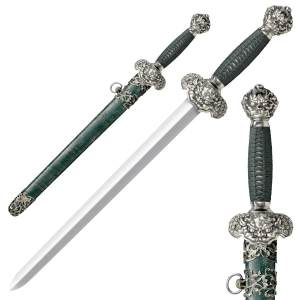 Cold Steel Jade Lion Dagger Sword - 88RLD