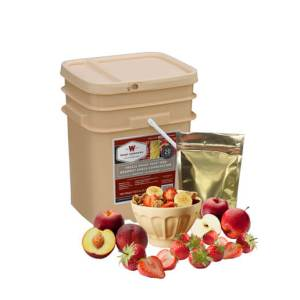 120 Serving Wise Fruit Bucket - Emergency Food Storage