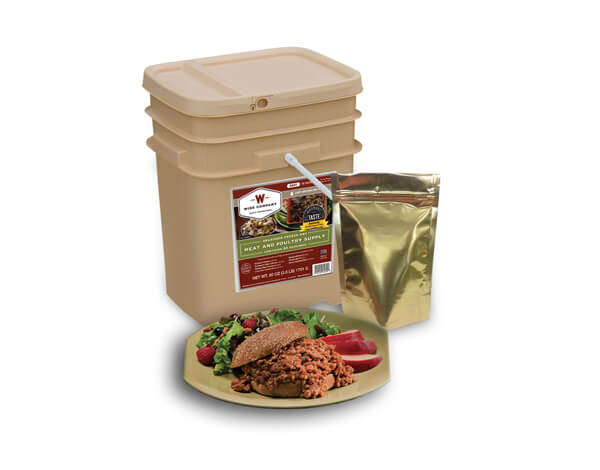 60 Serving Wise Meat Bucket - Emergency Meat Storage - FSM60