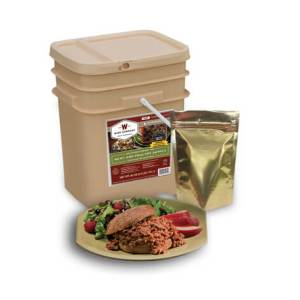 60 Serving Wise Meat Bucket - Emergency Meat Storage - FSM60