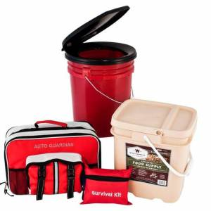 Guardian Family Emergency Preparedness & Food Storage Bundle - PPK4