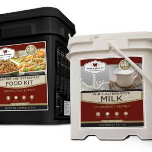 Wise Company 1 Month Gluten-Free Emergency Food Supply w/ Milk - FSB204