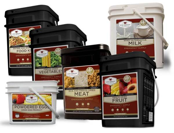 Wise Company Premier Gluten-Free Emergency Food Supply Bundle - FSP764