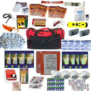 4 Person Perfect Survival Kit Deluxe