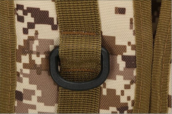 50L Mil-Spec MOLLE Backpack - Attachment Loop detail