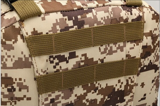 50L Mil-Spec MOLLE Backpack - MOLLE detail