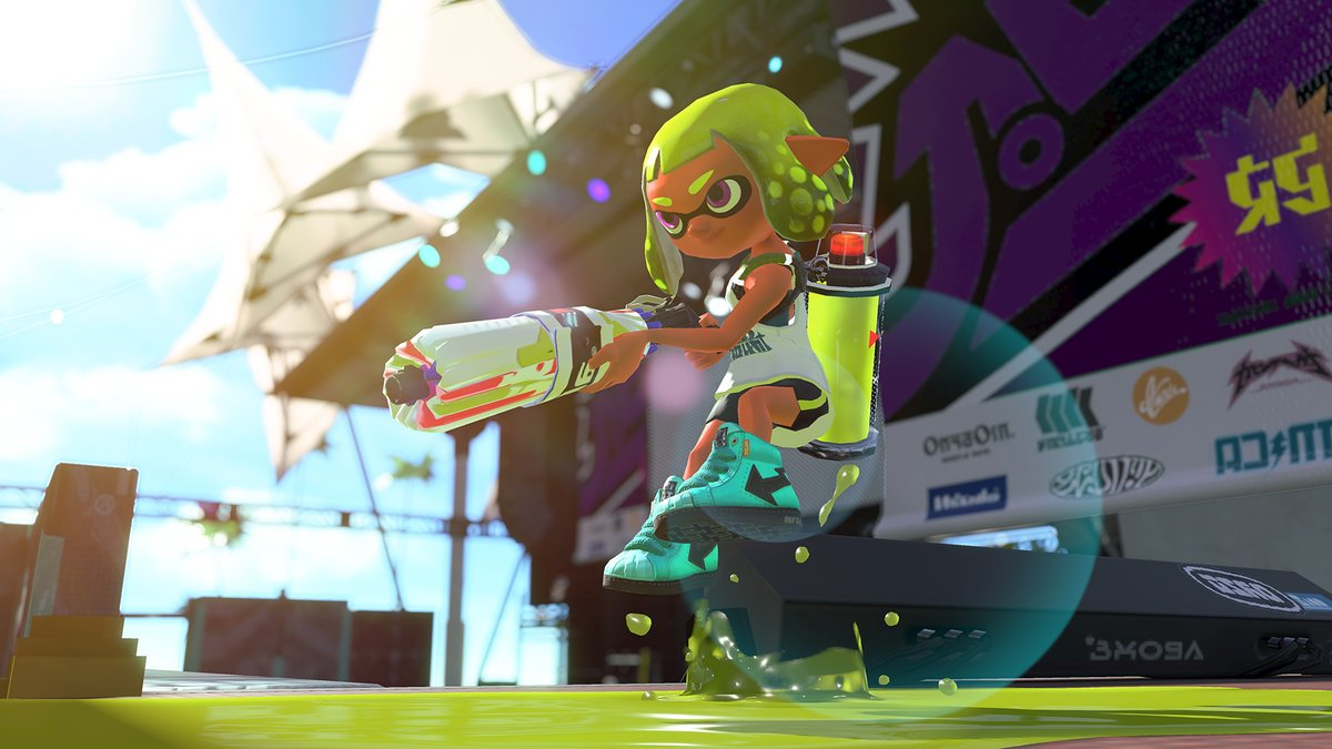 Splat Brella Is Coming This Weekend To Splatoon 2 NinMobileNews
