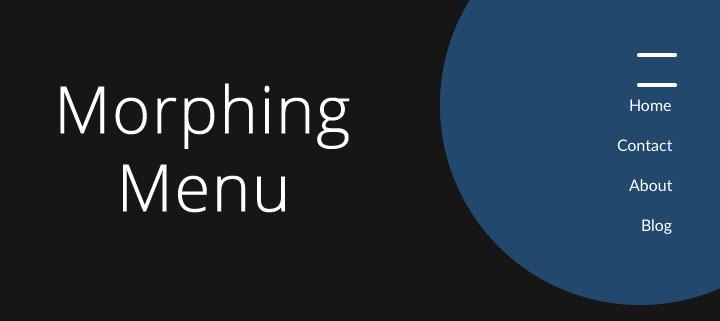 Morphing-Menu-jquery-plugin