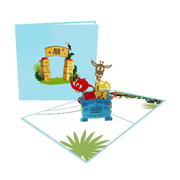 PICNIC 3D POP UP CARD
