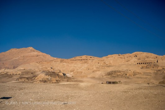 Valley of the King... pretty arid