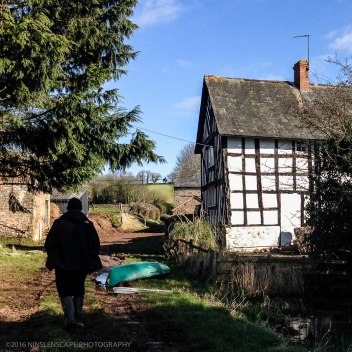 Walking along public footpaths, even though it may be on somebody else's property
