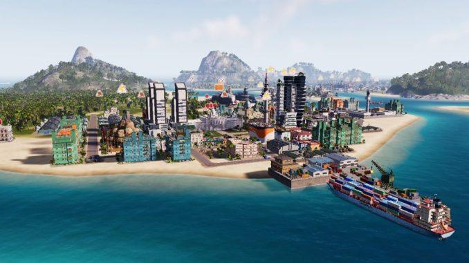 Tropico 6 city