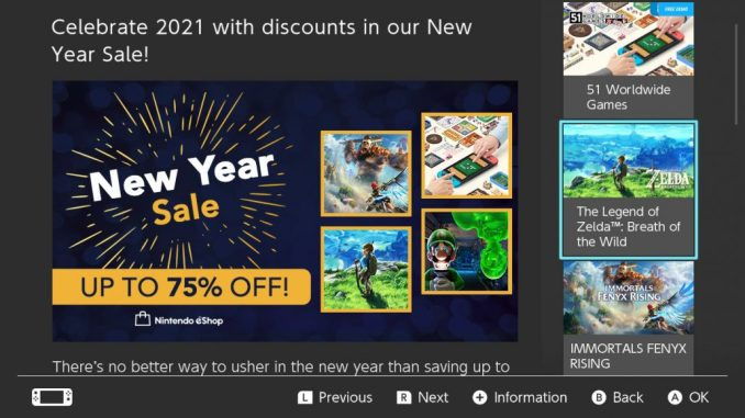 New Year Sales 2021