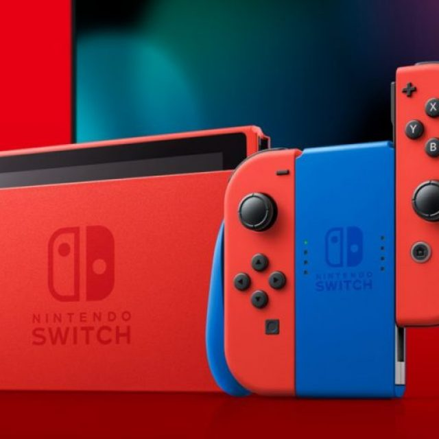 Mario Red & Blue Edition Switch