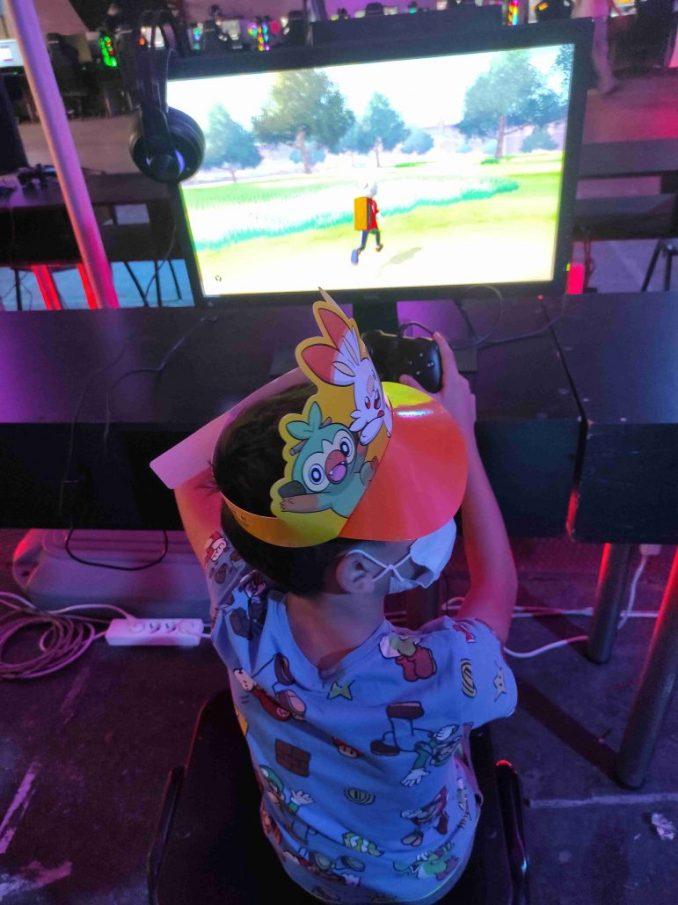e-Gaming 2021 παίζοντας Pokemon