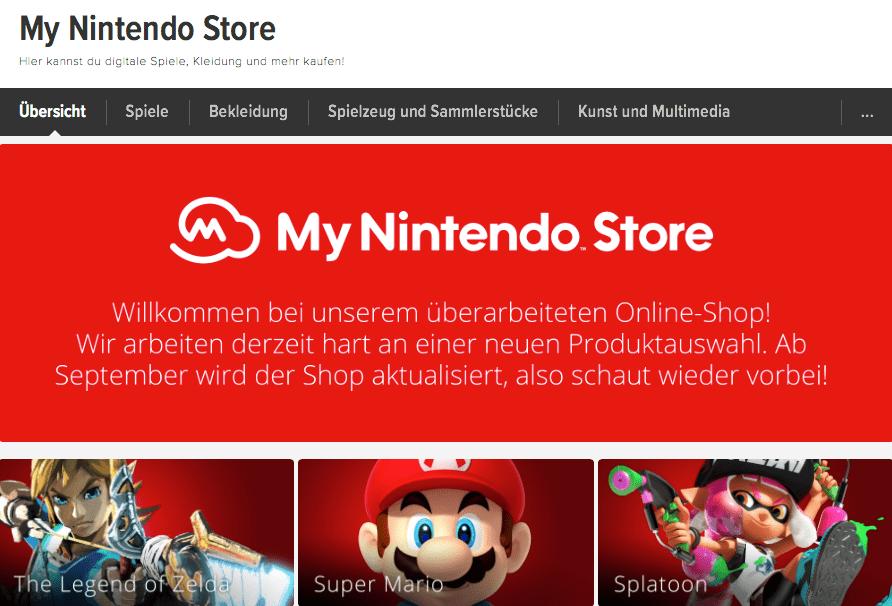 my-nintendo-store