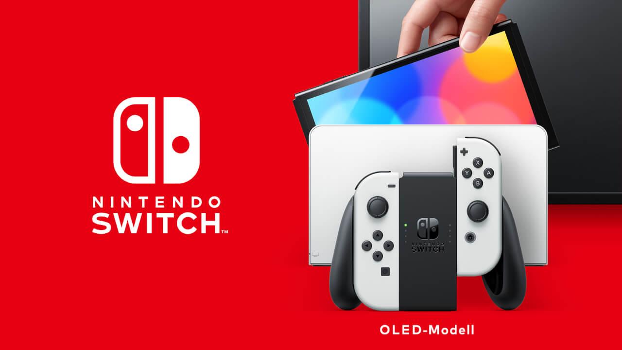 """Nintendo spricht über """"burn-in"""" beim Nintendo Switch OLED-Modell"""