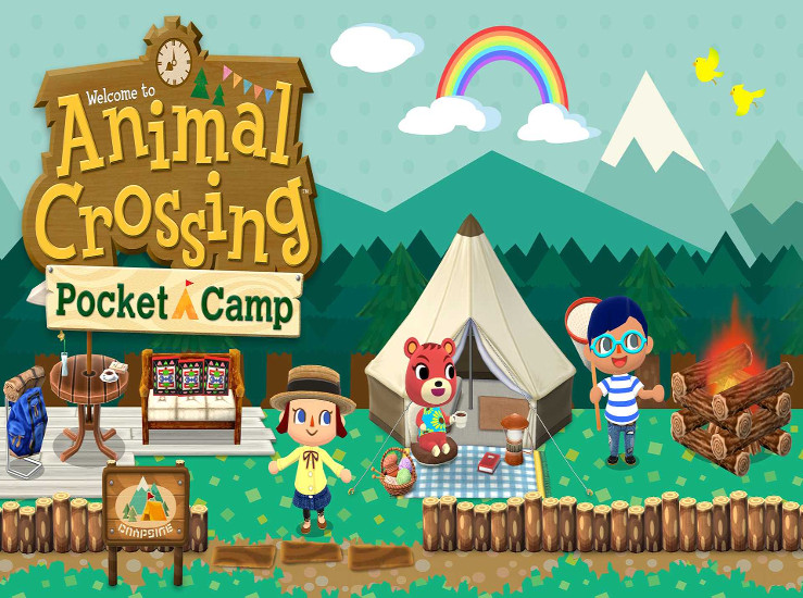 Animal Crossing: Pocket Camp, de nouveaux personnages...