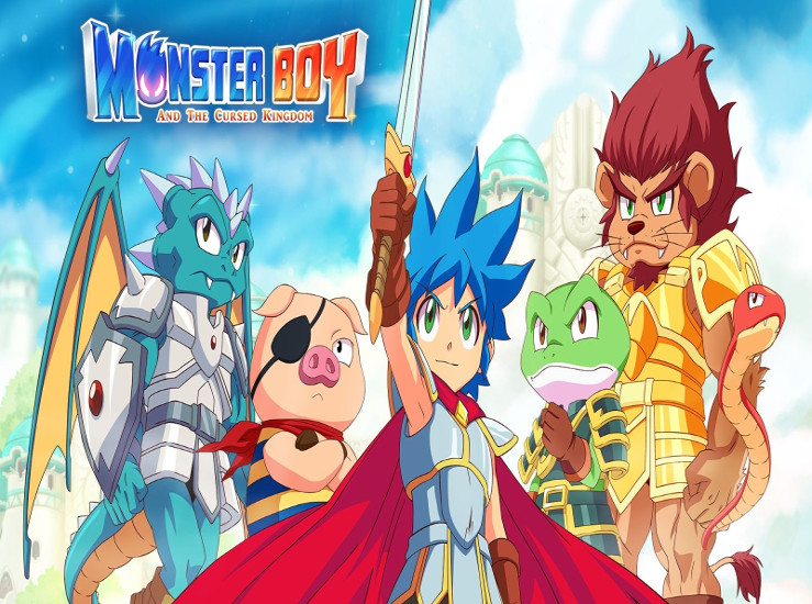 Monster Boy and the Cursed Kingdom en images...