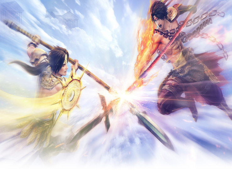 Warriors Orochi 4 en mouvement...