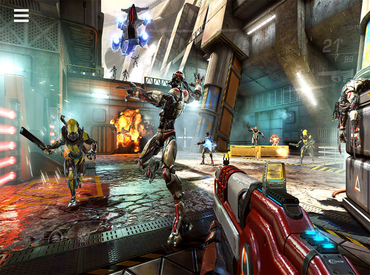 Shadowgun Legends, une version Switch...