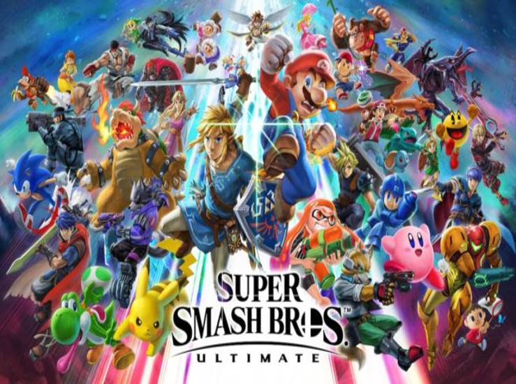Super Smash Bros. Ultimate s'affiche à Paris...