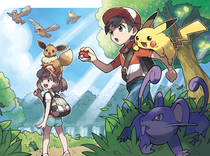 Pokémon: Let's Go, Pikachu & Pokémon: Let's Go, Évoli sont disponibles...